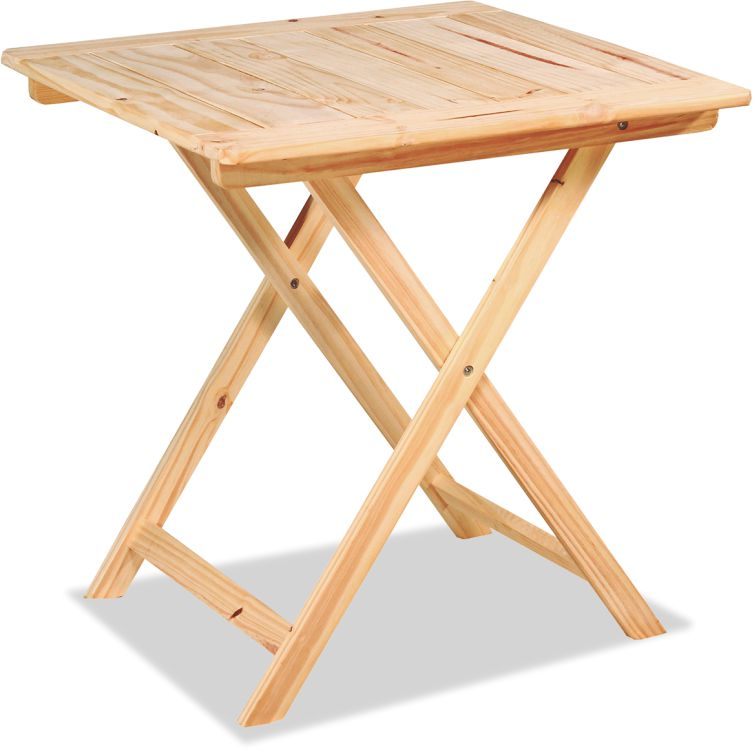 Mesa bar 75x75 crudo pino confort y muebles - Muebles en crudo para pintar ...